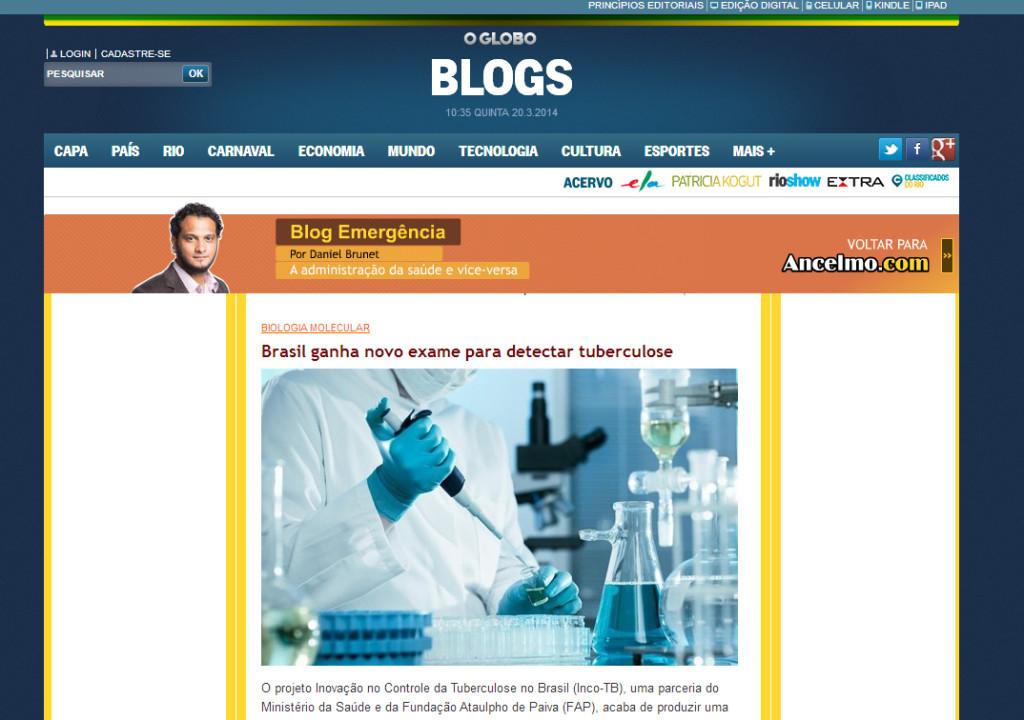 Blog Emergência - 19 março-chamada