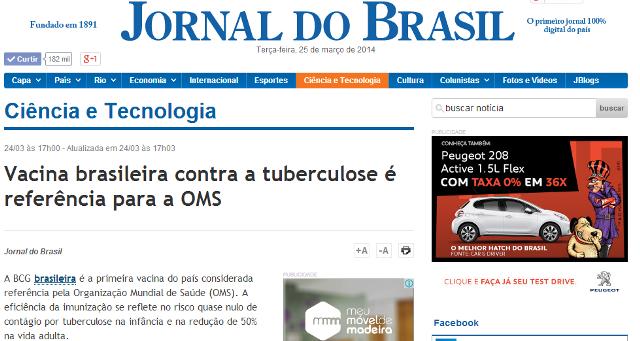Jornal-do-Brasil-Dia-Mundial-da-Tuberculose-2014-capa