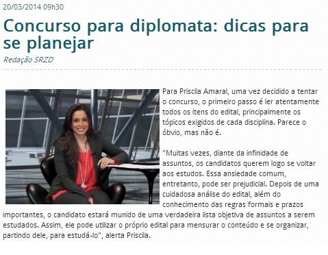 Sidney Rezende materia destaque priscila - 10 set 2013